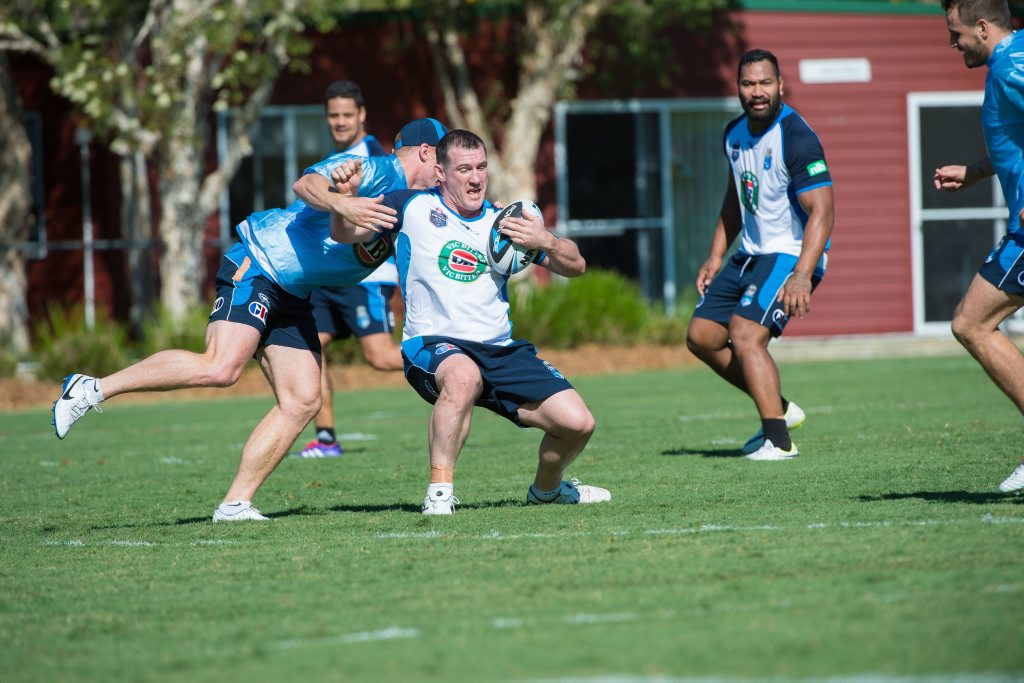 NSW Blues skipper Paul Gallen can't wait to get into training during the team camp at Novotel Pacific Bay Resort ahead of State of Origin II.