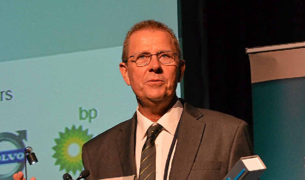TRUCKING AUSTRALIA: Robert Schalkwyk from EnergyTrans won Professional Driver of the Year at the ATA Awards last year.