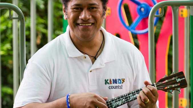 FUN CLASSICS: Jay Laga'aia brings his Kindy Roadshow to our region.