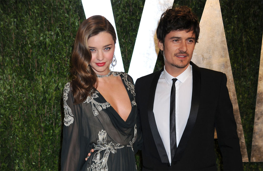 Miranda Kerr and Orlando Bloom before their separation