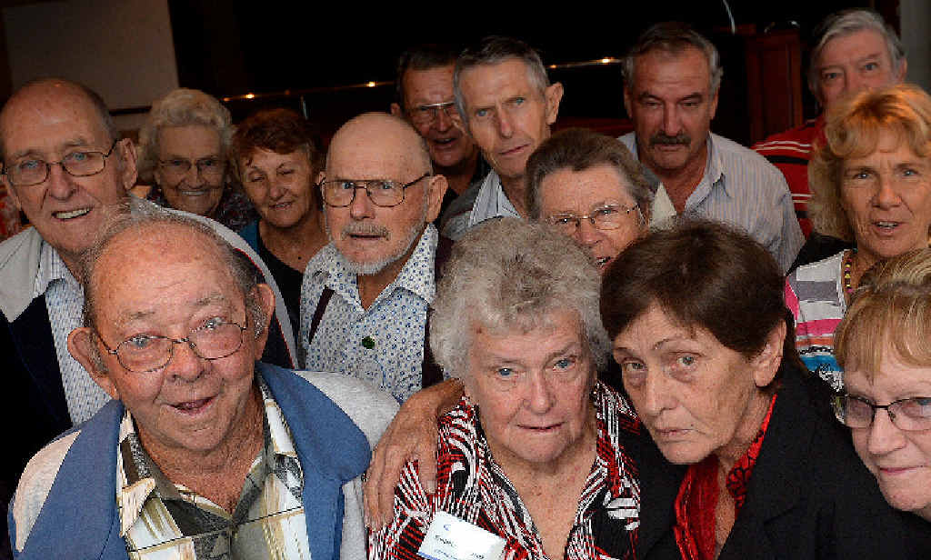 NOT HAPPY WITH TREASURER HOCKEY'S BUDGET: National Seniors zone representatives met in Gympie yesterday, with delegates from as far as Rockhampton, Emerald and Nanango