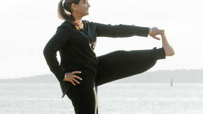 STAY CALM: Yoga guru Pushpa Bakshi.