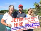 Rip over to Great Keppel Island in no time flat on a jet ski