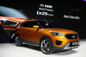 The Hyundai ix25 concept.