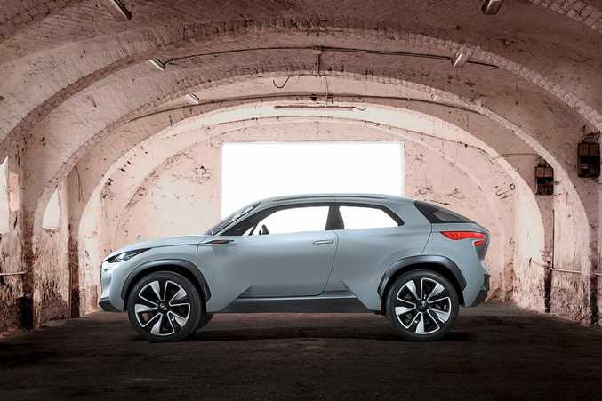 The Hyundai Intrado.