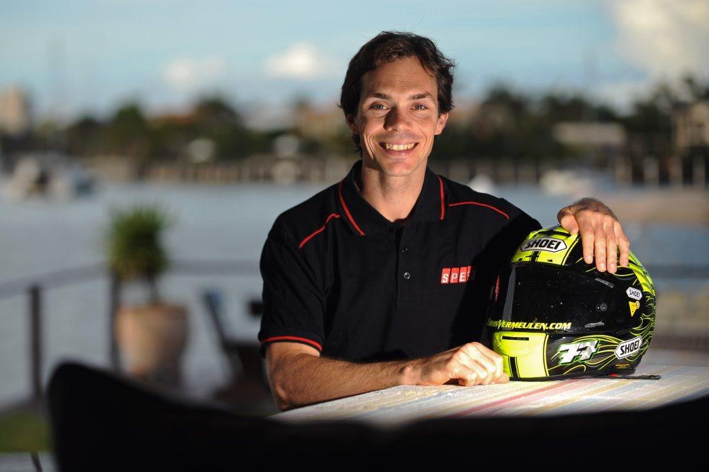 Retired MotoGP racer Chris Vermeulen is now working for SpeedTV as expert commentator.