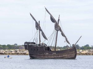 15th century 'pirate ship' returns to Clarence