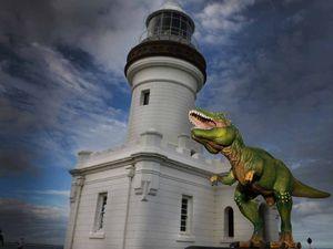 Tyrannosaur sees the light(house)