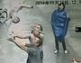 Men catch falling baby