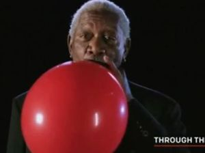 Morgan Freeman, speaking on Helium