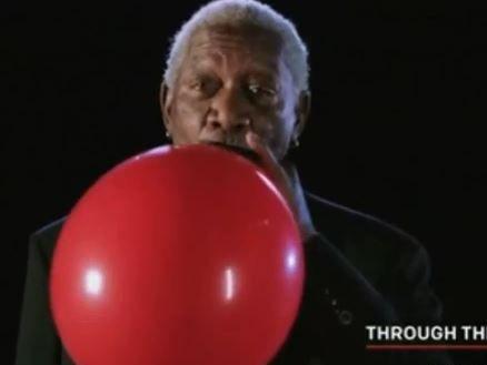 Morgan Freeman speaking on Helium.