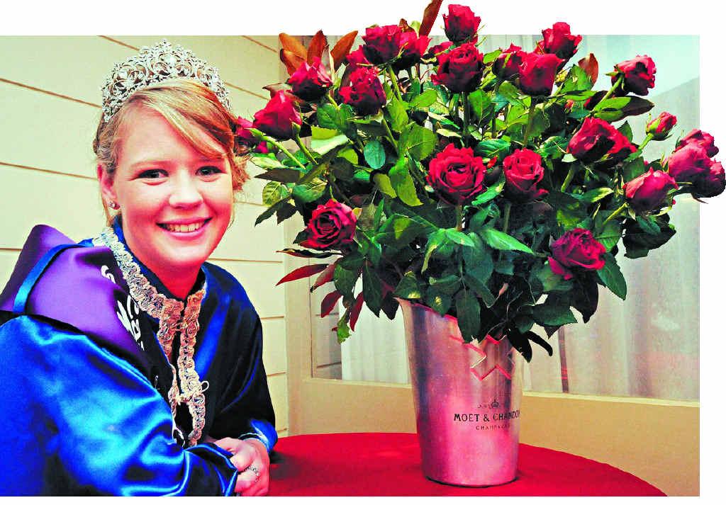 ROYAL HONOUR: Brooke Hancock of Casino is the Casino Beef Week Queen for 2014.
