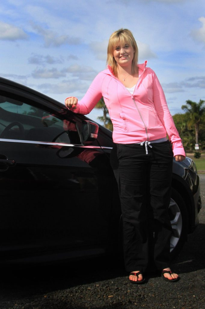 Jade Scrim suffered a brain injury in a crash last June and had to resit a practical driving test.