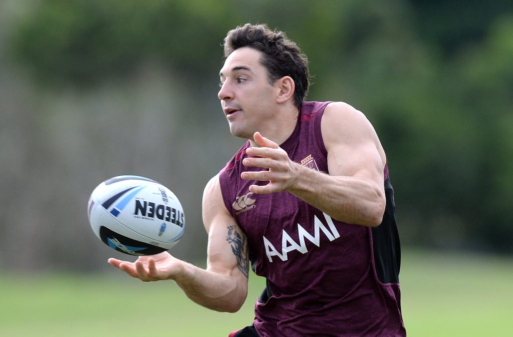 Queensland Origin legend Billy Slater is visiting Hervey Bay this week.