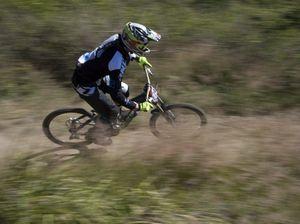 Mountain bike action in Jubilee Park