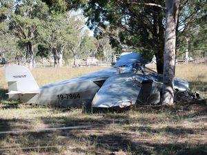 Two men injured in plane crash near Leyburn