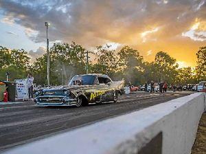 Nitro Funny Cars get serious at Benaraby Raceway