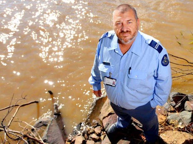 TILAPIA TROUBLE: Fisheries Queensland district officer Gary Muhling wants anglers to be on the lookout for tilapia, an invasive fish species that has been found in the Fitzroy system.