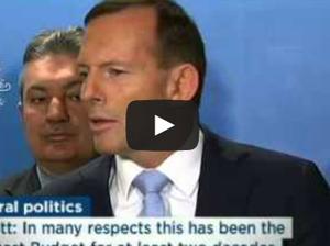 Tony Abbott defends daughter Frances