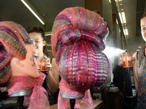 Hair raising apprentices on show at Kingscliff TAFE