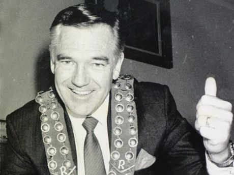 Historic: Politicians Former Rockhampton Mayor Jim Webber. Photo: Morning Bulletin Archives