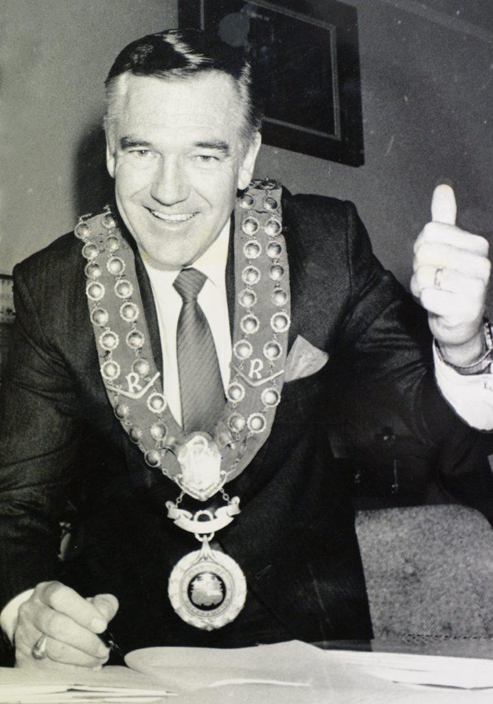 Historic: Politicians Former Rockhampton Mayor Jim Webber. Photo: Morning Bulletin Archives
