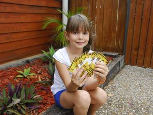 Paige unearths a love of dinosaurs with Observer's help