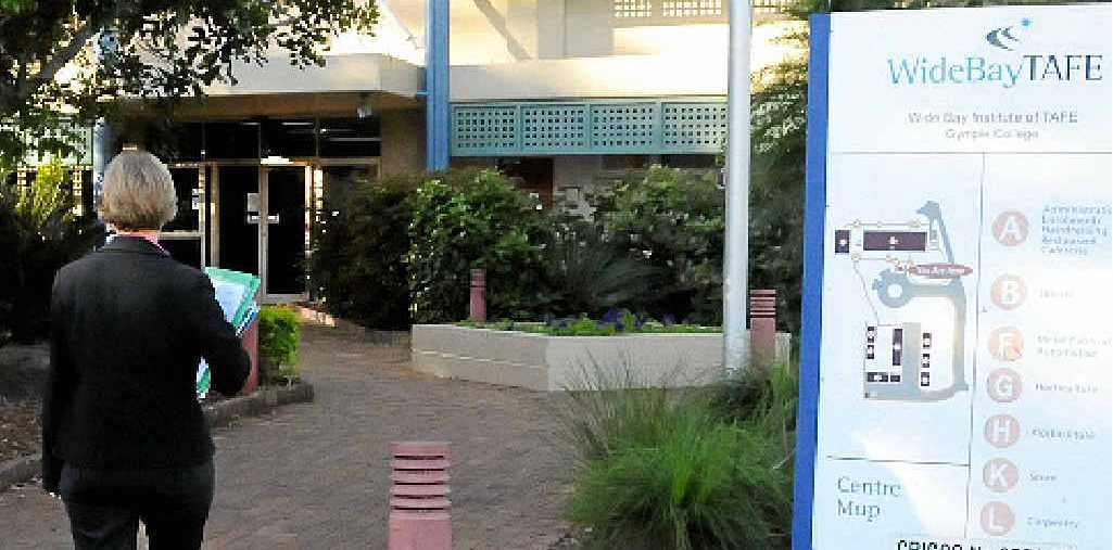 COST PRUNING: Gympie TAFE will have less to offer some students next semester.