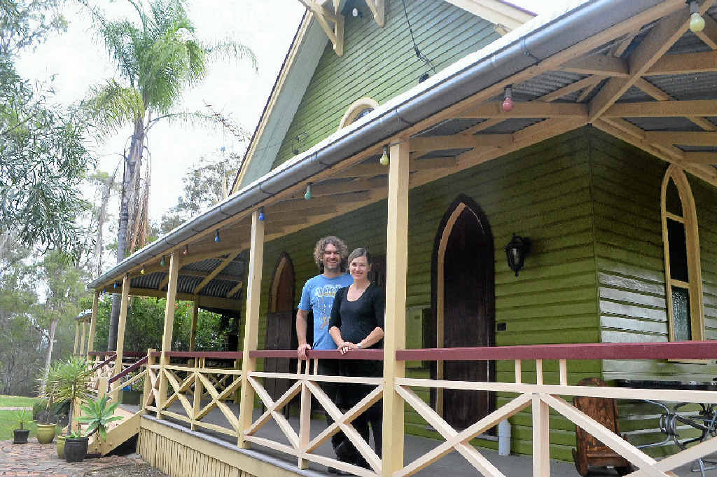Record producer Magoo and wife Tylea are selling their Applewood Lane studio at Fernvale. Photo Derek Barry / Gatton Star