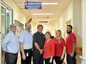 Community is given praise for oncology ward fundraising