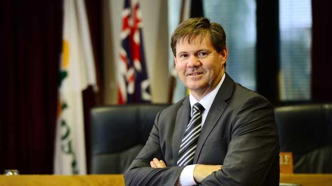 Ipswich City Council CEO Jim Lindsay