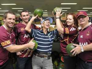 PHOTOS: Origin fever sweeps through Toowoomba businesses