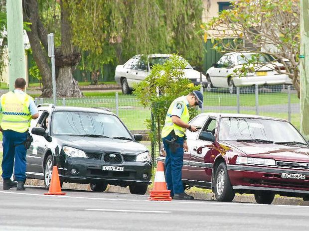 OUT IN FORCE: Coffs-Clarence police will conduct more driver checks to catch offenders.