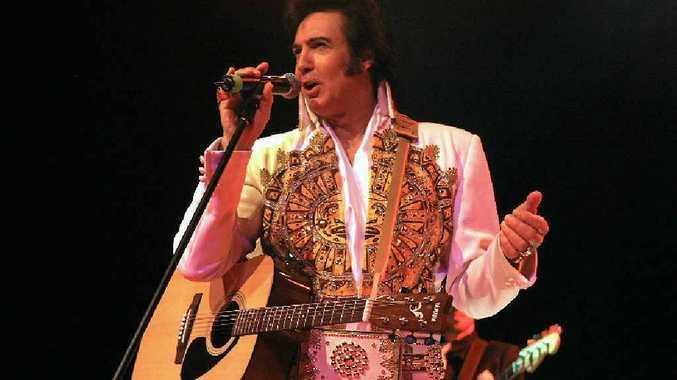 POPULAR IMPERSONATOR: Max Pellicano is bringing his Elvis show to the GECC.
