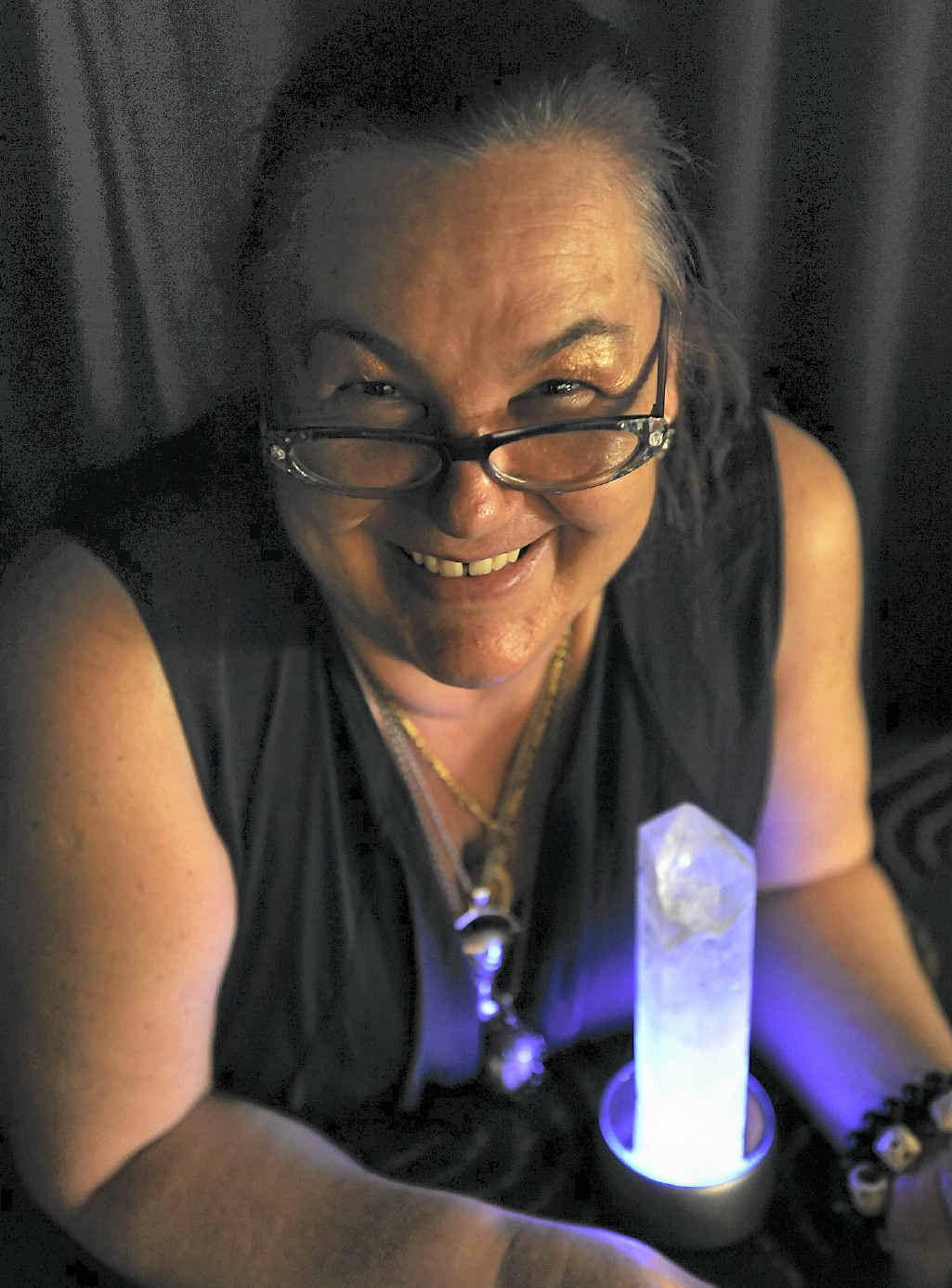 PSYCHIC EXPO: Australian Psychic Expo Co coordinator Konnie Gold.