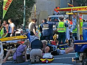 German tourist loses leg after Noosa driver loses control
