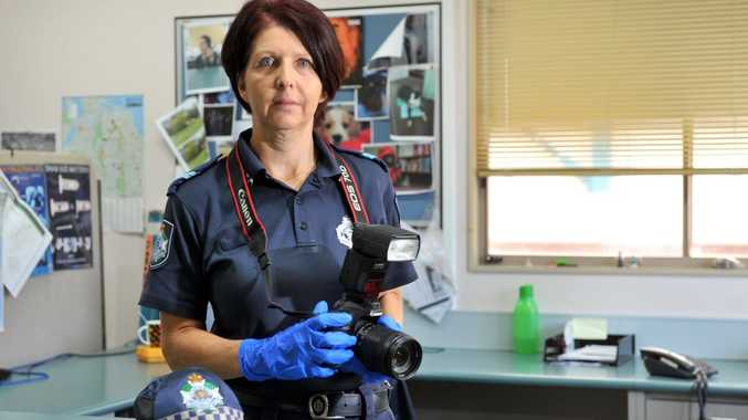 Gladstone Scenes of Crime officer Senior Constable Colleen Smith has seen too many horrific crashes in the region.