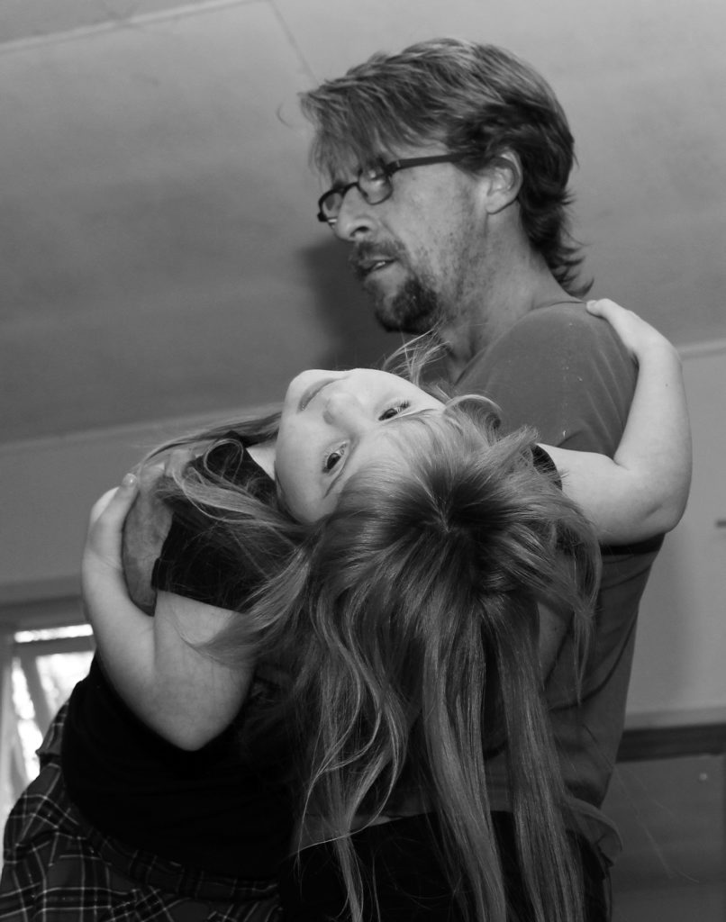 Darren Green and Nadia Layton rehearsing in the lead up to free workshops for children with disabilities, to be held at Suzanne Whiteman s dance studio at Alstonville on Sunday, June 1. Photo Contributed Katrina Folkwell