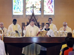 New bishop is a people person brings great enthusiasm