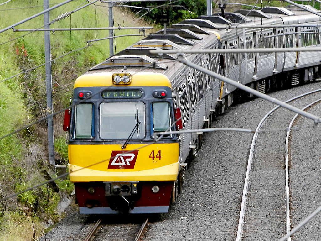 Trains will be replaced by buses along the Ipswich and Springfield lines this afternoon after an incident at Graceville train station.