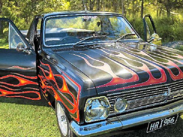 Donna Radford's 1966 Holden HR utility.