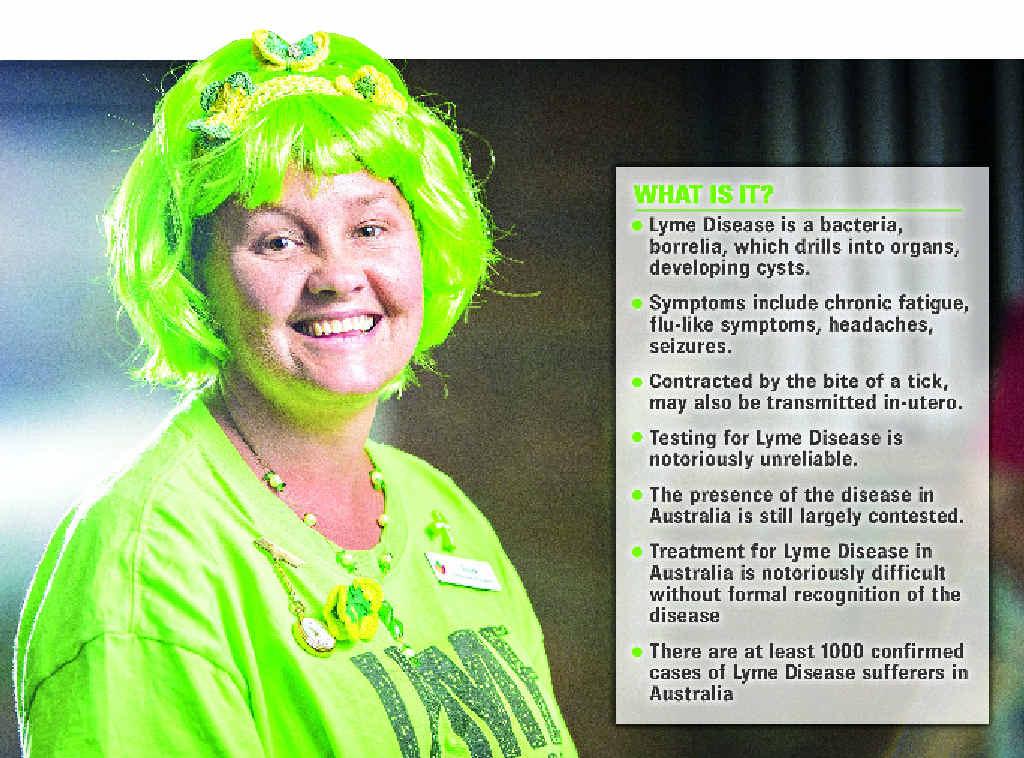 Lyme disease sufferer Leah Tedman.