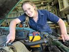 REVVED UP ABOUT CARS: Stephanie Alexander loves cars and desperately wants an automotive apprenticeship but believes being a woman has been a disadvantage in her quest for employment.