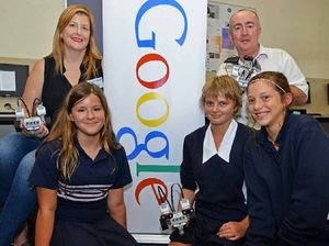 Google's robot secrets shared with Mountain Creek State High