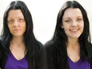 Make-up artists age smokers