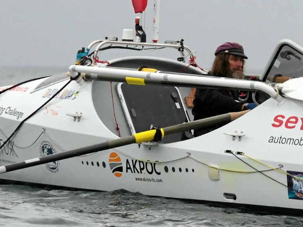 EDGING CLOSER: Fedor Konyukhov is expected to step ashore at Mooloolaba this morning after a 16,800km solo, non-stop,