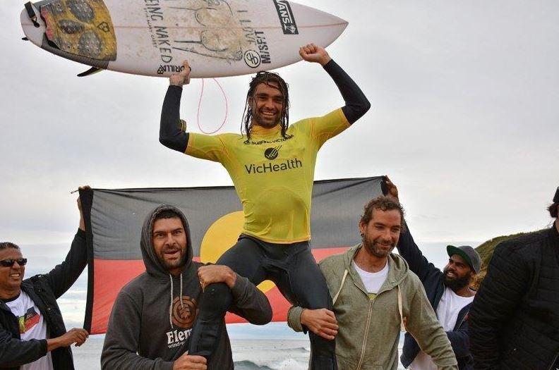 Coffs Surfing Otis Carey 2014 Australian Indigenous champion