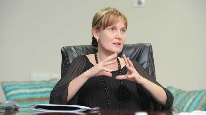 Lisa Desmond has received anonymous and abusive letters about her rumoured relationship with Mayor Gerard O'Connell.