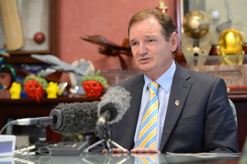Ipswich Mayor Paul Pisasale.
