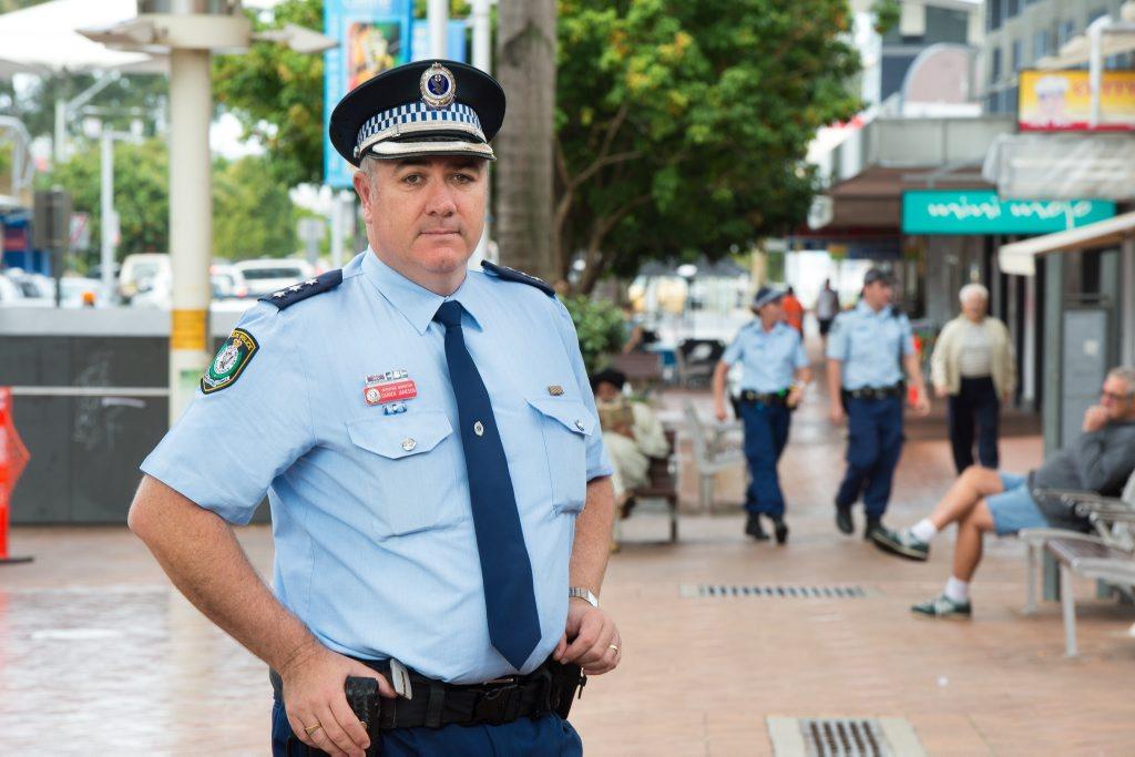 Coffs Clarence Crime Manager Detective Inspector Darren Jameson.